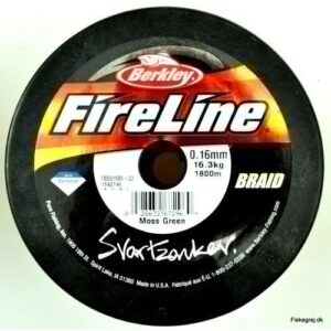 Berkley Fireline Svartzonker Braid 1800m