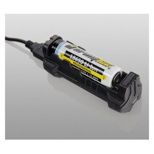 Armytek Handy C1 / 1ch / LED indication / Input 5V MicroUSB / Output 1.2A / Powerbank 1A / for IMR/Li-Ion - Oplader
